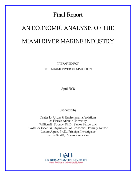 economic analysis on development of marine Project dates: october 2012 - june 2014 marine debris has many impacts on the ocean, wildlife, and coastal communities a noaa marine debris program economic study released today shows that.